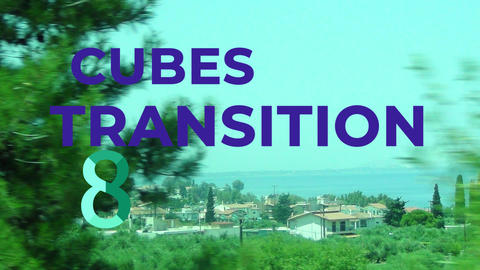 Cubes Transitions Motion Graphics Template