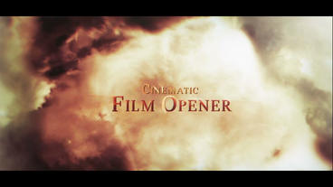 Cinametic Movie Opener After Effects Template