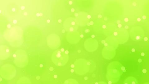 グリーン 背景 キラキラ CG動画
