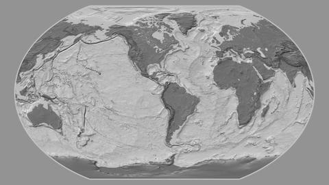 Denmark - hub of the world. Bilevel Animation