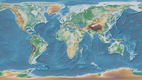 Djibouti - hub of the world. Physical Animation