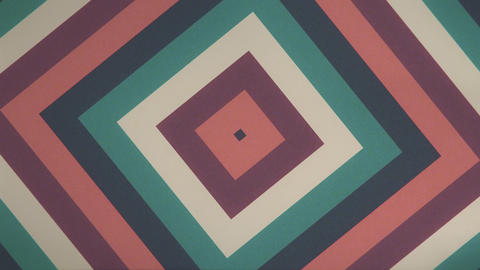 Retro Square Ripple -Seamless Looping Video Animation