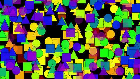 Background geometry CG動画