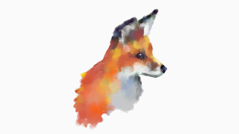 Fox Drawing Sketch Animation