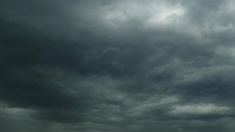 dark storm clouds are moving fast, timelapse 4k Footage