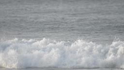 Waves crashing at sea, Chiba Prefecture, Japan Footage