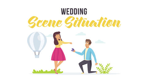 Wedding - Scene Situation After Effects Template