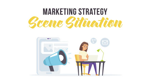 Marketing strategy - Scene Situation After Effects Template