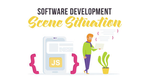 Software development - Scene Situation After Effects Template