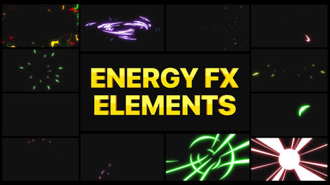 Energy Elements Apple Motion Template
