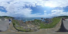 【360VR】Tanesashi Coast, Aomori, Japan Fotografía de realidad virtual (RV) en 360°