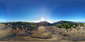 【360VR】Mount. Tengu, Sunrise, Yatsugatake, Japan Fotografía de realidad virtual (RV) en 360°