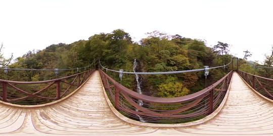 【360VR】Mitou fall, Hinohara Village Video de realidad virtual (RV) en 360°
