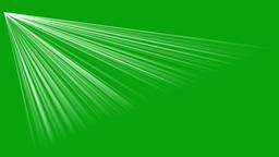 Rays of light motion graphics with green screen background Animation