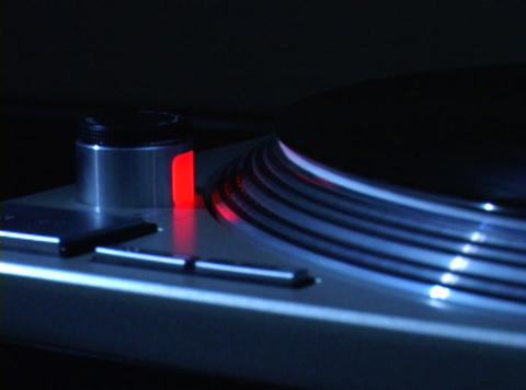 Turntable 3 Stock Video Footage