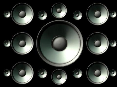 Speaker Grid3 Stock Video Footage