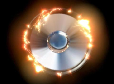 Speaker 2 chrome rays CG動画
