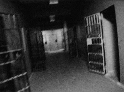 cell doors 1 loop Stock Video Footage