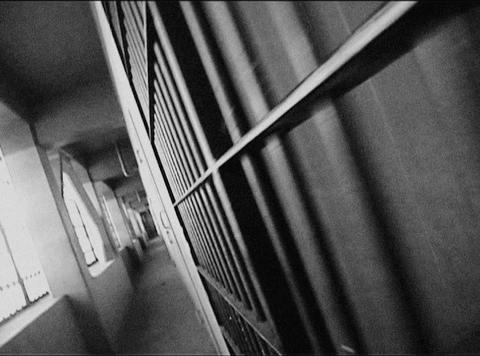 cell doors 4 loop Footage