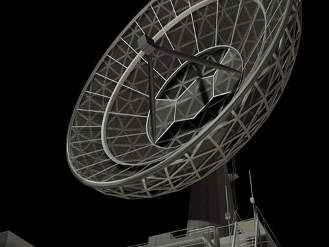 Radio Telescope Animation