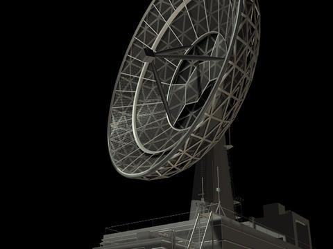 Radio Telescope Stock Video Footage