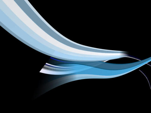 Soft Blue Stripe mntg Stock Video Footage