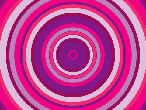 Radio Circles RD Purp Stock Video Footage
