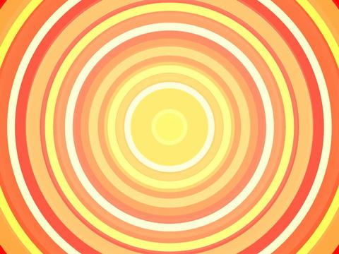 Radio Circles Yell OJWarm 3 Stock Video Footage