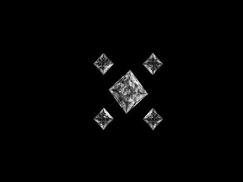 diamond topShape Stock Video Footage