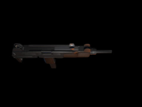 Machine gun UZI f Stock Video Footage