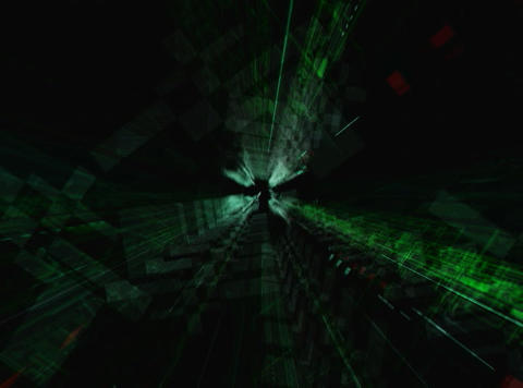 CLUSTER Tunnel Stock Video Footage