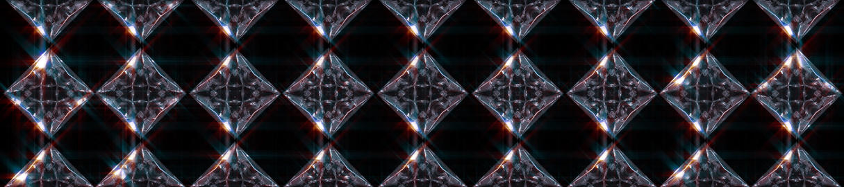 Diamond Array 3scr Stock Video Footage