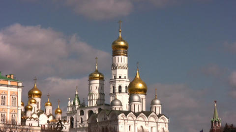 moscow bell tower Stock Video Footage