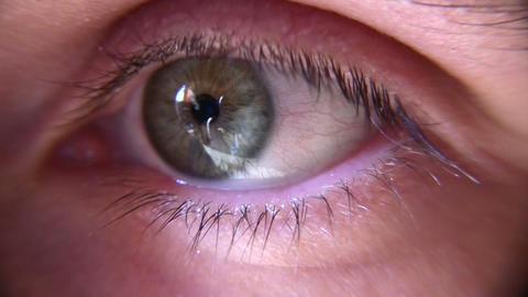 eye closeup Stock Video Footage