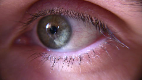eye closeup Stock Video Footage