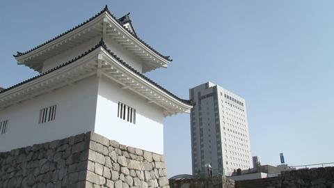 Toyama / Azumi Castle Tilt 1 富山 安住城 チルト Footage