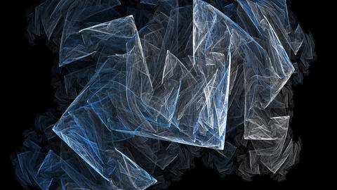 Ice shards Stock Video Footage