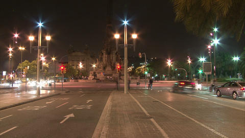BCN sqr01 Stock Video Footage