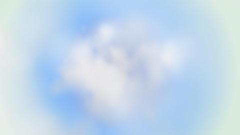 In clouds loop Stock Video Footage