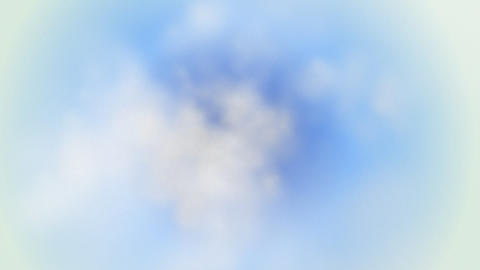 In clouds loop Animation