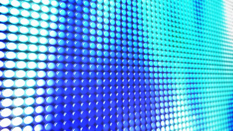 LED screen loop Stock Video Footage