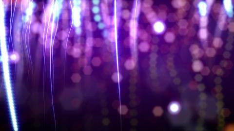 Purple confetti loop Stock Video Footage