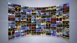 Video Wall stock footage