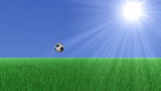 Anim Jumping Football MJPEG A 1280x720 stock footage