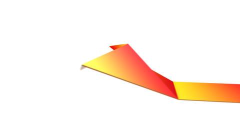 Anim Origami MJPEG A 1280x720 Stock Video Footage