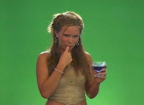 Beautiful Teen Blonde with Sweet Syrup Footage