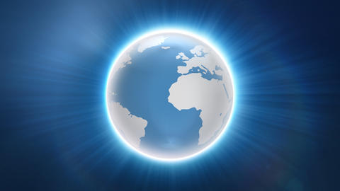 News type globe background Animation