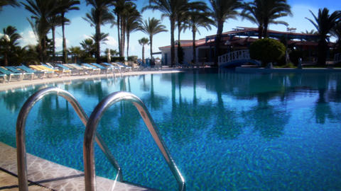 Paradise Pool Stock Video Footage