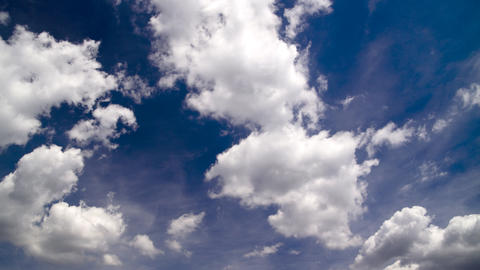 clouds on a sunny sky Footage