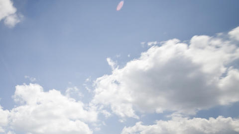 clouds on a sunny day: HD timelapse Stock Video Footage